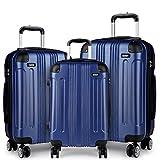 Best Luggage Sets - Kono 3pcs Luggage Set Hard Shell Suitcase Light Review