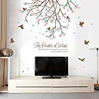 DIY Removable Wall Stickers For Living Room Home Decor - Little bird