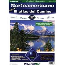 Norteamericano el Atlas del Camino: Estados Unidos, Canada, And Mexico
