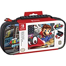 Nintendo Switch Super Mario Odyssey Carrying Case  Protective Deluxe Travel Case  PU Leather Exterior  Official Nintendo Licensed Product