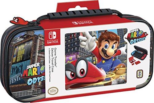 Big Ben Custodia di Trasporto Deluxe Ufficiale Mario Odyssey Classics Nintendo Switch
