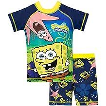 Bob Esponja Bañador de Dos Piezas para niño Spongebob Squarepants
