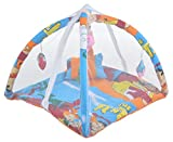 #7: Feathers-Nature's Touch Polycotton Baby Play Gym with Mosquito net(0-6Months)