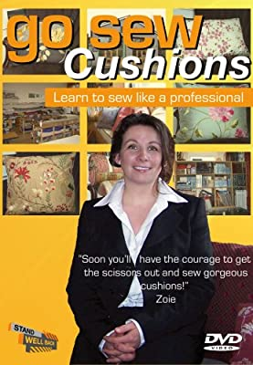 Go Sew Cushions: Learn to sew like a professional [DVD] - low-cost UK light store.