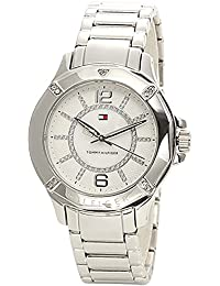 Tommy Hilfiger Analog White Dial Women's Watch-NATH1780911