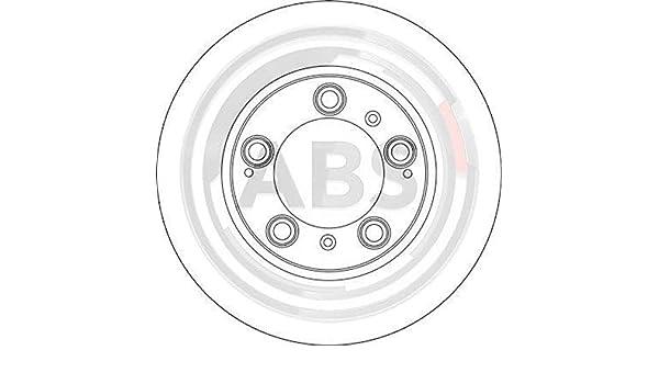 Bremsscheibe A.B.S 17074