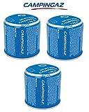 BOMBOLETTA Cartuccia CARTUCCE A Gas 190 GR - C206 GLS CAMPINGAZ C206GLS - con Sistema Sicurezza A Membrana - Offerta per 3 BOMBOLETTE