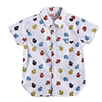 Minions Boys Printed Shirt,White