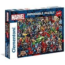 Puzzle di Clementoni Marvel 1000 Piece Impossible