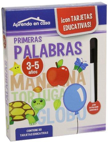 Aprendo en Casa las Palabras (3-5 años) por Mónica Martínez Vicente