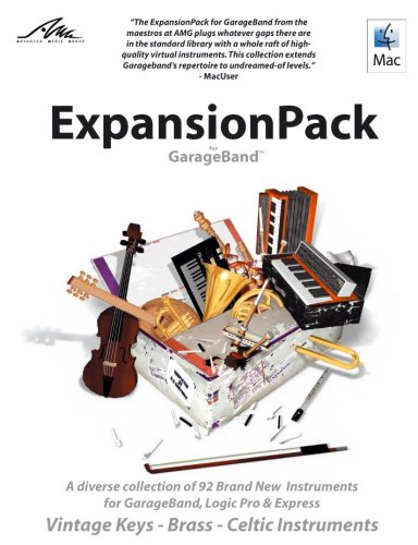 AMG Expansion Pack for GarageBand: Vintage Keys, Brass, Celtic Instruments