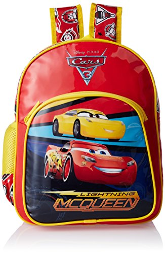 Cars-Polyester-Red-School-Bag-Age-group-2-4-yrs