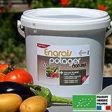 Agro Sens Biologique Engrais Potager Concentré Tous Légumes - 8 ...