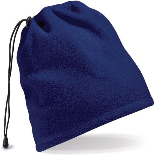 Beechfield Suprafleece Schal-cappello Charcoal
