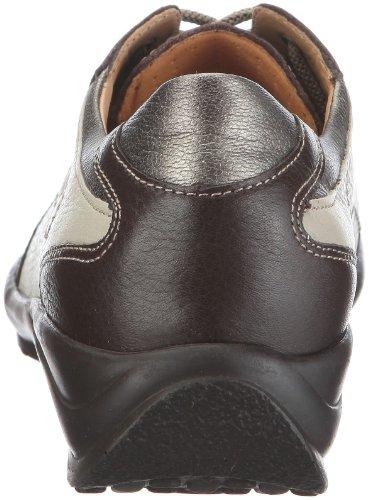 Ganter Hedy, Weite H 1-205211-2066 Damen Halbschuhe Braun/Espresso/Ecru