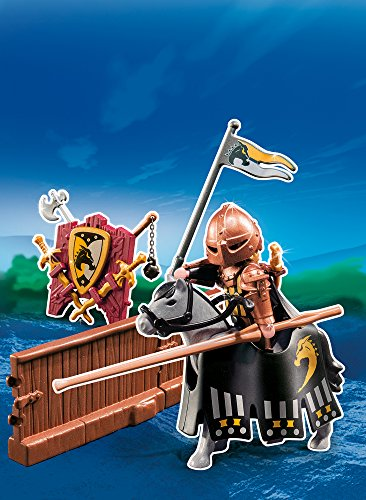 PLAYMOBIL Caballeros - Figura de Torneo de la Orden del Caballo Salvaje (5357) 3