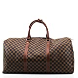 Best Louis Vuitton Bags - Womens Ladies Designer Barrel Style Check Floral Hangbag Review