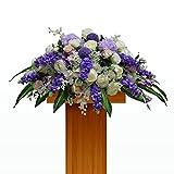 ZHUDJ Arte Floral Flores Artificiales Flores Artificiales De Seda Escritorio Terraza Flores Flor Conferencia Mostrador De Recepción De Cortesía Del Hotel Restaurante Mawar
