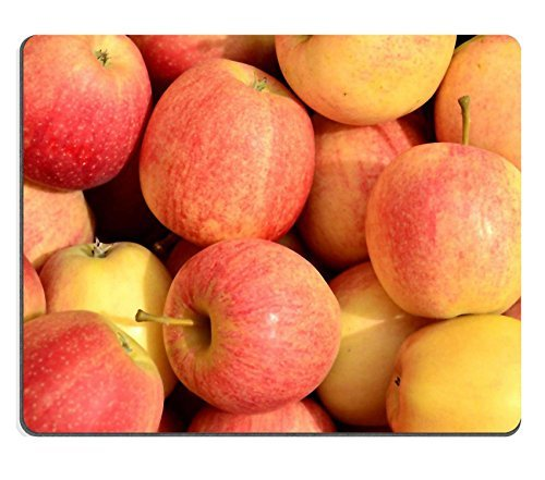 liili-mouse-pad-apples-fall-harvest-fruit-food-natural-rubber-material-image-277490-by-liili