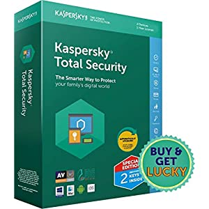 Kaspersky Total Security Multidevice – 2 Users, 1 Year