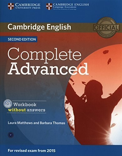 Complete Advanced Workbook without Answers with Audio CD by Laura Matthews (2014-06-16)