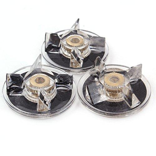 UNIQUEBELLA Ersatzteile für Magic Bullet, 3pcs Basis Getriebe für 250w Magic Bullet Blender Saftmischer - 4