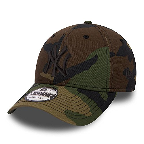 New Era 9FORTY, Gorra, Unisex Adulto, Verde/Marrón, Talla Única
