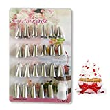 24 Nozzle Piping Set For Cake Decorating, Sugar-crafting - Best Reviews Guide