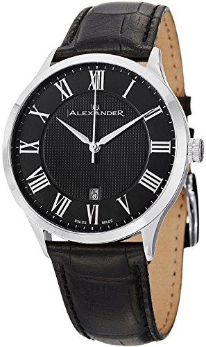 alexander-statesman-triumph-reloj-de-muneca-para-hombre-piel-color-negro-acero-inoxidable-analog-swi