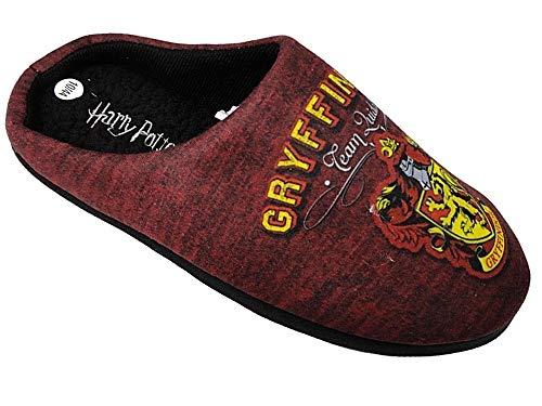 'Harry Potter' - Pantuflas de Sintético Hombre, Color Morado, Talla 42.5
