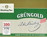 Bünting Tee Grüngold Echter Ostfriesentee 100 x 2.8 g Beutel, 5er  Pack (5 x 280 g)