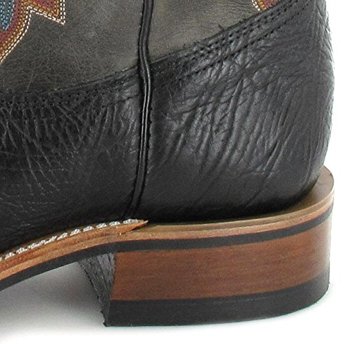 Boulet  1129, Bottes et bottines cowboy homme Noir/gris