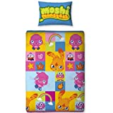 Moshi Monsters Single Rotary Duvet Cover & Pillowcase Set