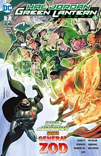 Hal Jordan und das Green Lantern Corps: Bd. 7: Zods Wille (Lantern Hal Jordan Green)