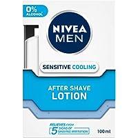 NIVEA MEN Shaving, Sensitive Cooling After Shave Lotion, 100ml