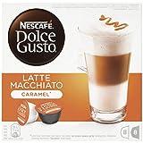 Nescafé Dolce Gusto - Latte Macchiato Caramel - 3 Paquetes de 16 Cápsulas - Total: 48...