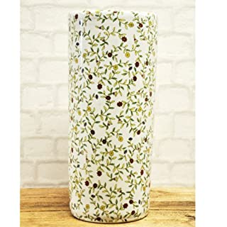 Autumn Floral Ceramic Umbrella Stand