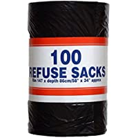 Big Value Refuse Sack Rolls - Pack of 100