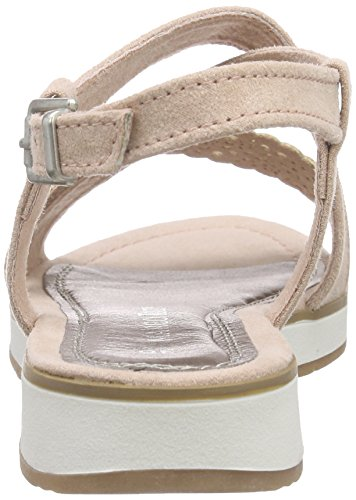 Marco Tozzi 48201, Sandales ouvertes fille Rose - Pink (ROSE 521)