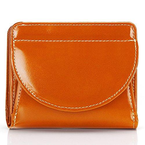 Monederos Mujer Carteras de Mujer con Cuero Genuino,Gran Capacidad & RFID Bloqueo, Moda Mujer Billetera con Diseño de bolsillo de monedas para Damas.
