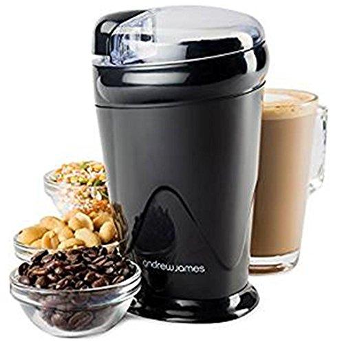 PLYY Kaffee abrader elektrisch Haushalt Klein Nuss Gewürze 150 Watt rostfreier Stahl Klinge - Fein-glas-klinge