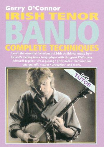 IRISH TENOR BANJO COMPLETE TECHNIQUES REINO UNIDO DVD
