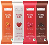 #10: BarADay Hearty Bite Natural Energy Bars 400g (Assorted, Pack of 8 Bars)