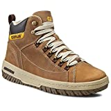 CAT zapatos de Caterpillar Apa HI Oscuro Beige Café P711589, Größe Schuhe Herren:44