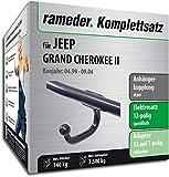 Rameder Komplettsatz, Anhängerkupplung starr + 13pol Elektrik für Jeep Grand Cherokee II (142890-04244-2)