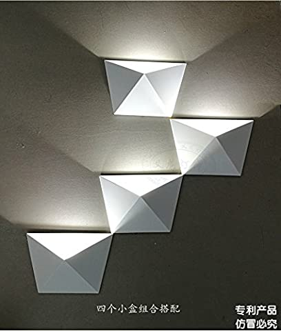 Modern minimalist living room Wall lamp bedside bedroom hallway entrance stairs lamp combination of personality creative arts LED Wall lamp,A