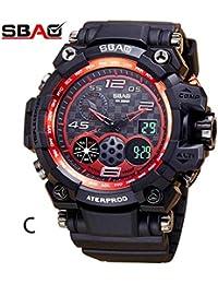 Daringjourney Reloj deportivo, reloj de camuflaje impermeable, reloj de moda para hombre, reloj