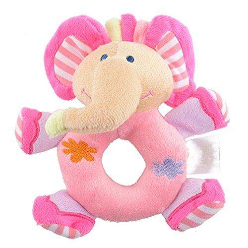 Coupon Matrix - Momongel Baby Infant Kids Gifts Cute Soft Pink Elephant Plush Rattle Educational CM© toys