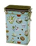 Qualität Kaffeekannen Design-Retro Vintage Style-rechteckig Kaffee Dose/Caddy/Küche Blechdose/Vorratsdose Kanister-hermetisch abgedichtet-500g