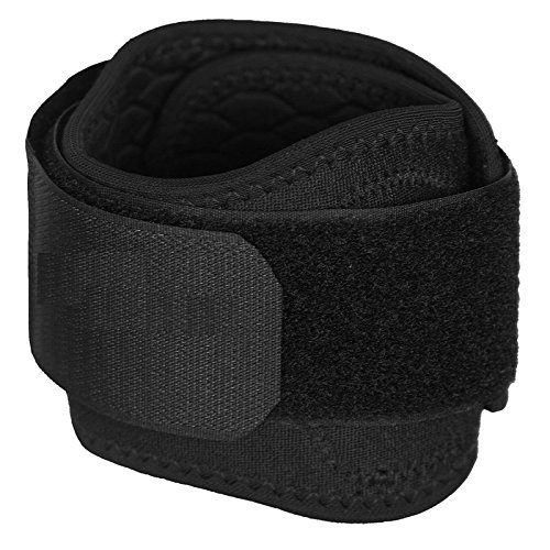 Orthowala ™ Tennis Elbow Strap / Wrap easy to use- , Preimum Range, power & strength for Elbow -X-Large  available at amazon for Rs.249